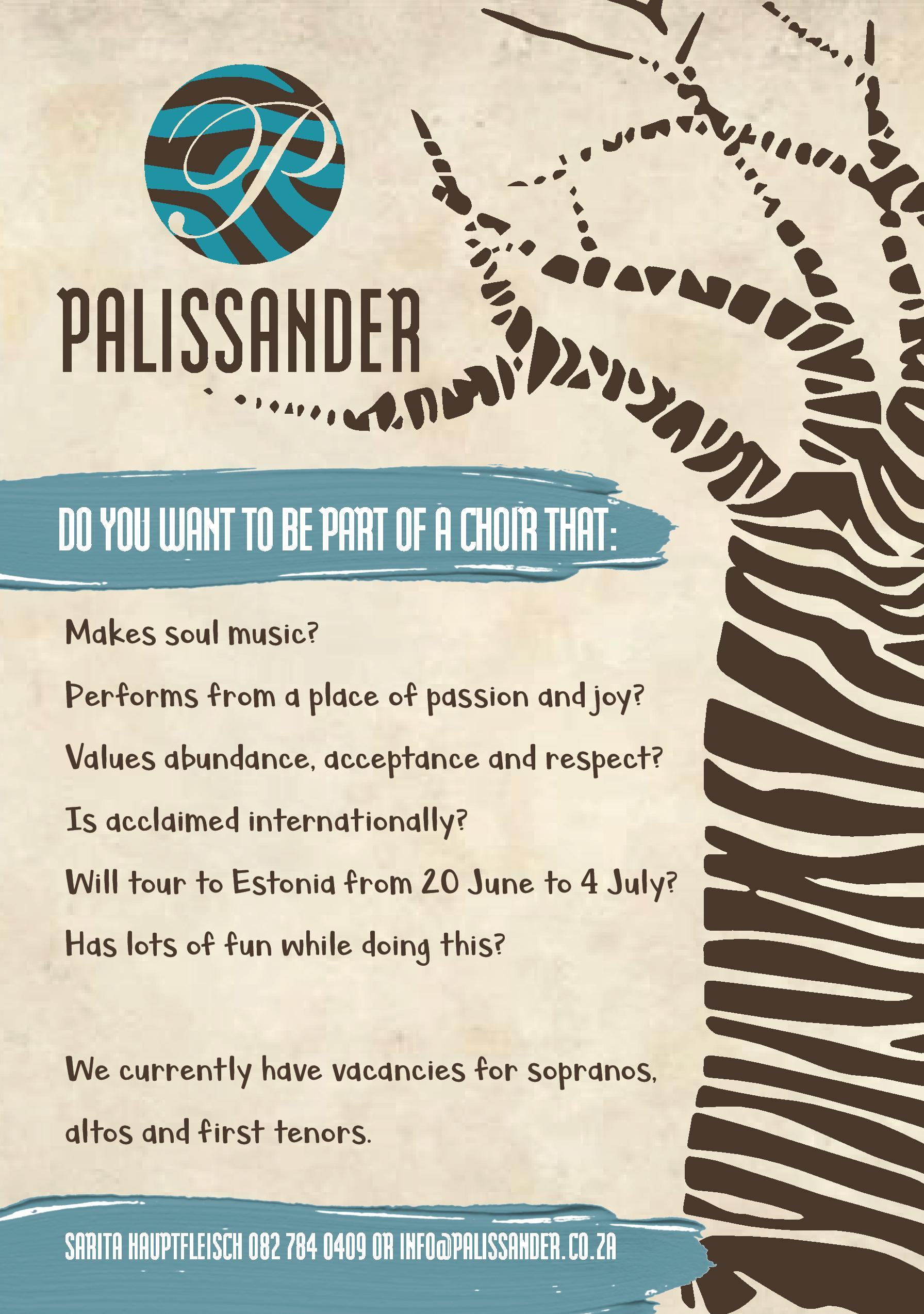 Palissander auditions 2018 corrected